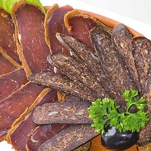 Вяленое мясо (бастурма, сурджук)
